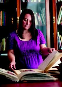 Head Archivist Christine McCafferty