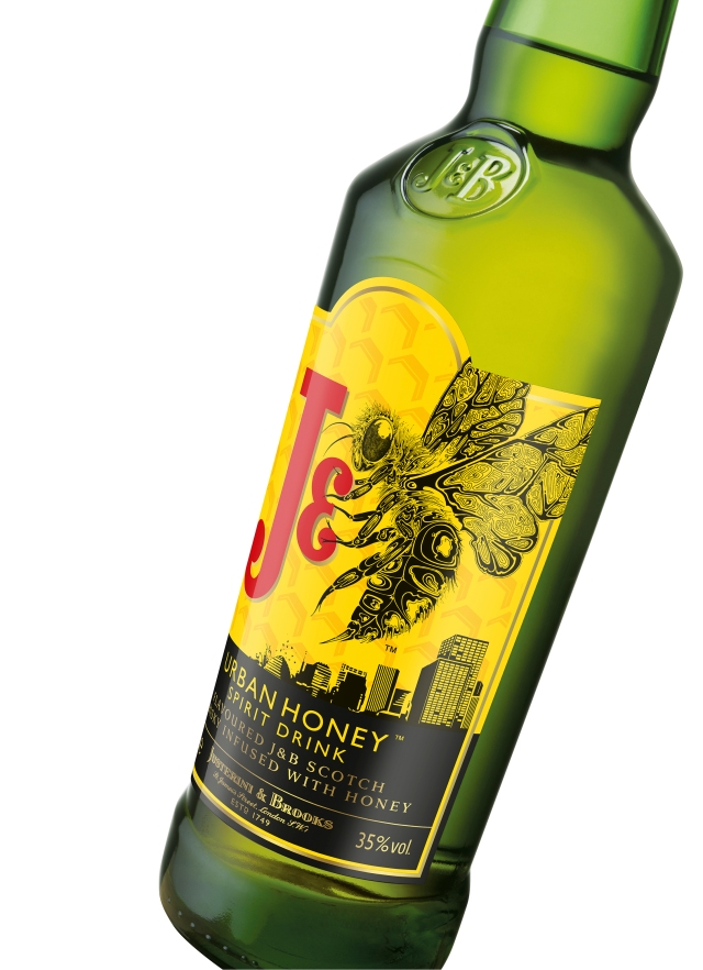 J&B Urban Honey - Angled angle